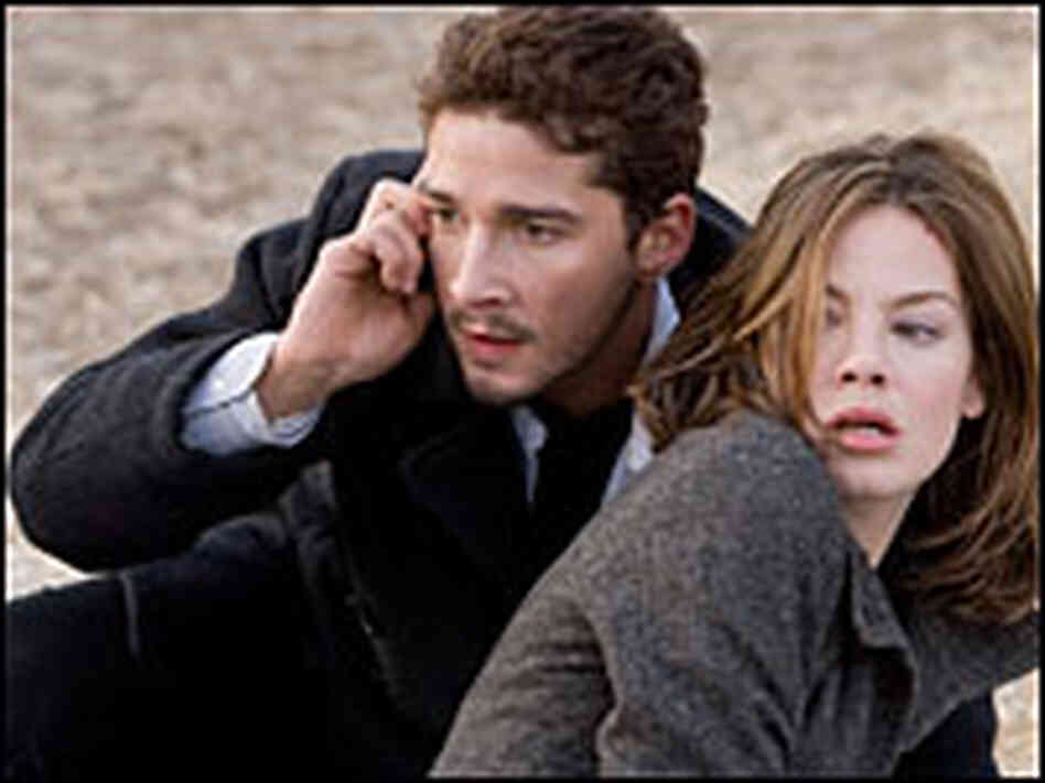 Shia LaBeouf and Michell Monaghan