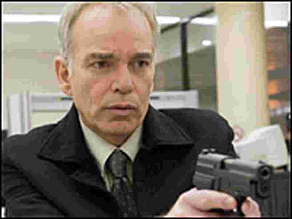 Billy Bob Thornton with pistol