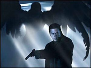 Mark Wahlberg as Max Payne and Mila Kunis as Mona Sax.