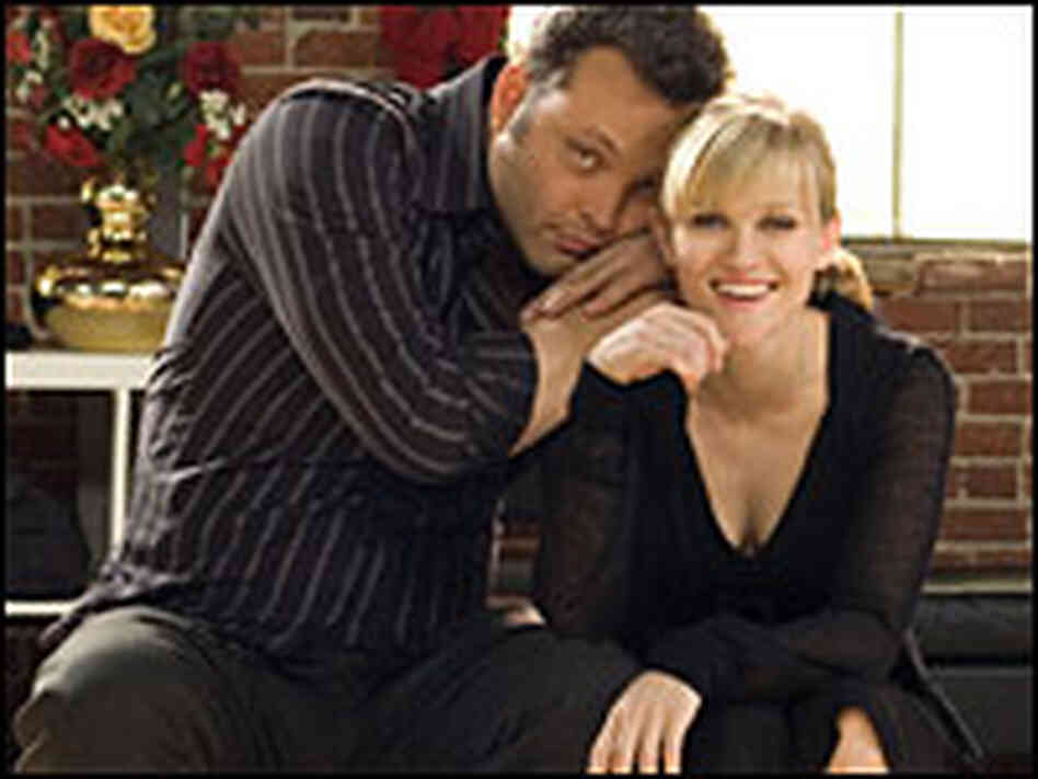 Vince Vaughn as Brad and Reese Witherspoon as Kate