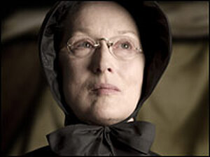 Meryl Streep as Sister Aloysius Beauvier