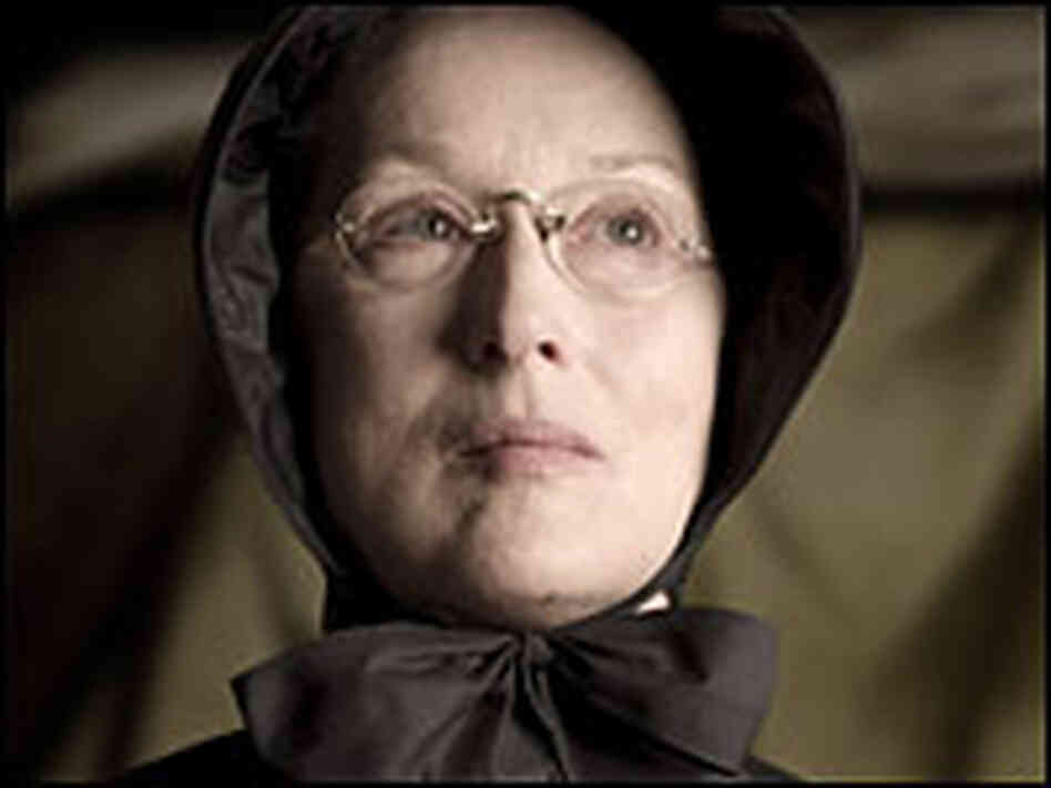 Meryl Streep as Sister Aloysius Beauvier
