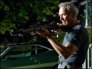 Clint Eastwood as Walt Kowalski