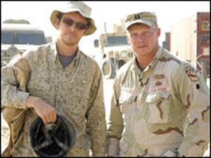 Director Jake Rademacher and brother Isaac Rademacher