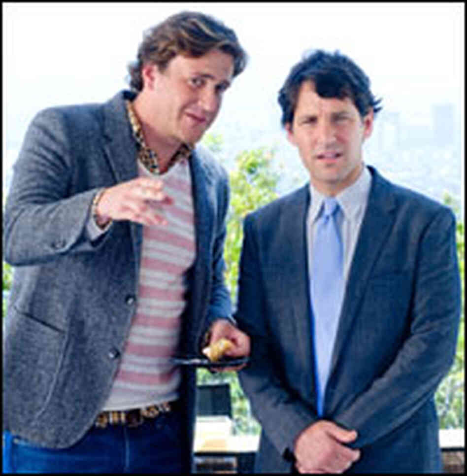 Jason Segel, Paul Rudd