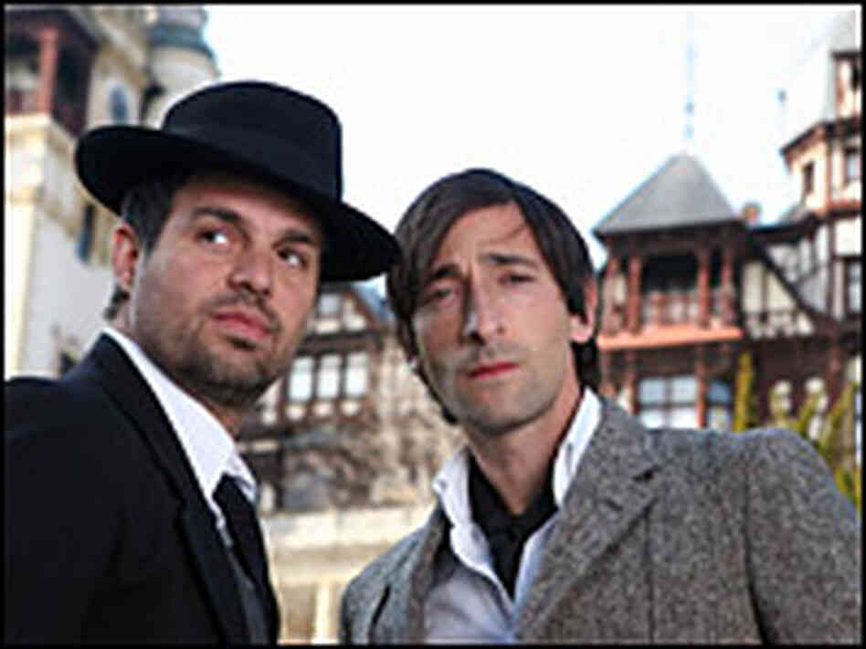 Adrien Brody and Mark Ruffalo in 'The Brothers Bloom'