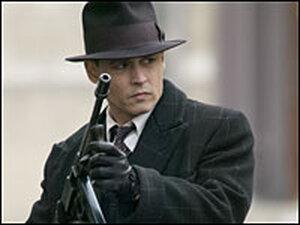 Johnny Depp in 'Public Enemies'