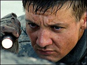 Jeremy Renner in 'The Hurt Locker'