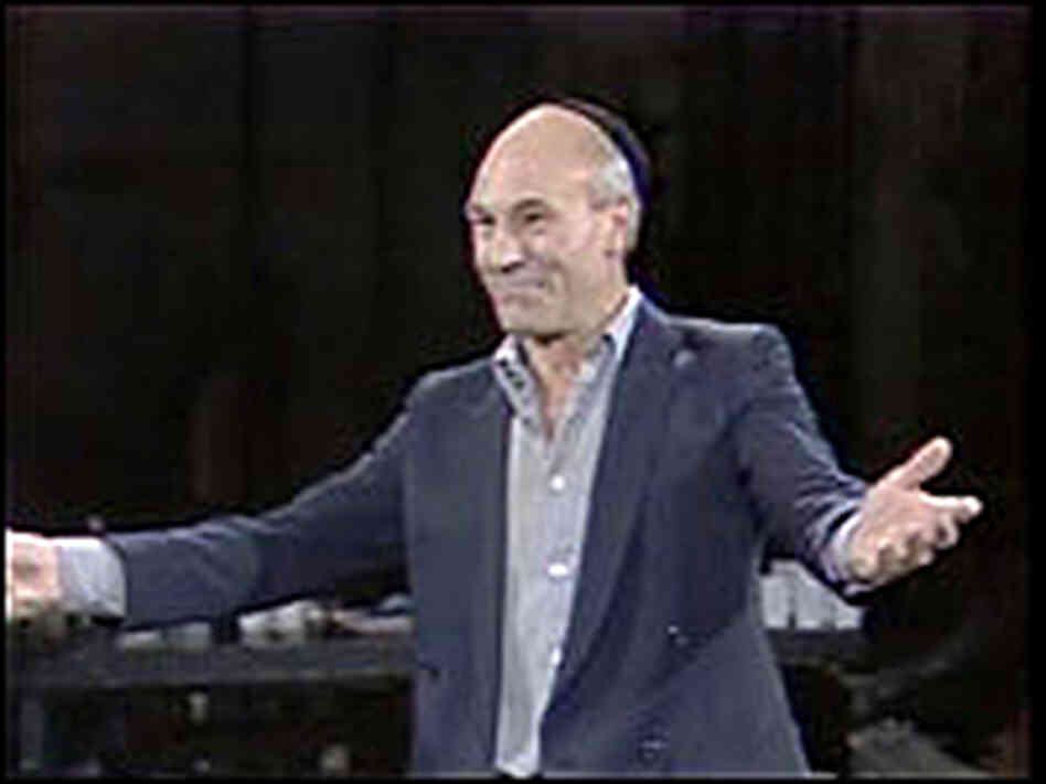 Patrick Stewart in 'Playing Shakespeare'