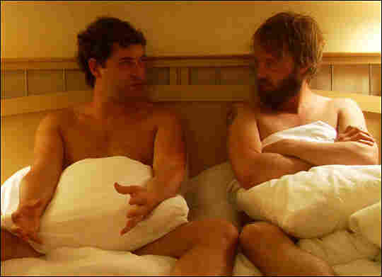 Mark Duplass and Joshua Leonard in 'Humpday'