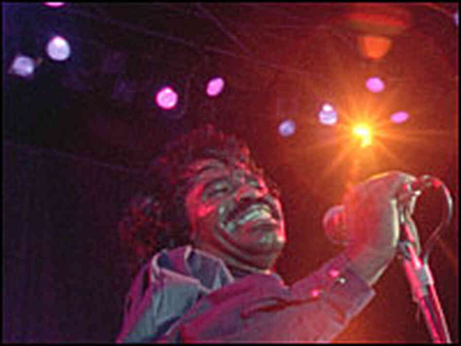 Singer James Brown in 'Soul Power'
