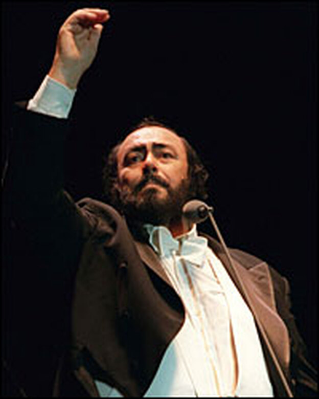 Luciano Pavarotti, unquestionably the most famous opera singer of the modern age, has died after a long battle with pancreatic cancer. (Getty Images)