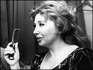 Soprano Beverly Sills (in 1970) is remembered for her high flying trills and her thoughtful interpretations of operatic roles.