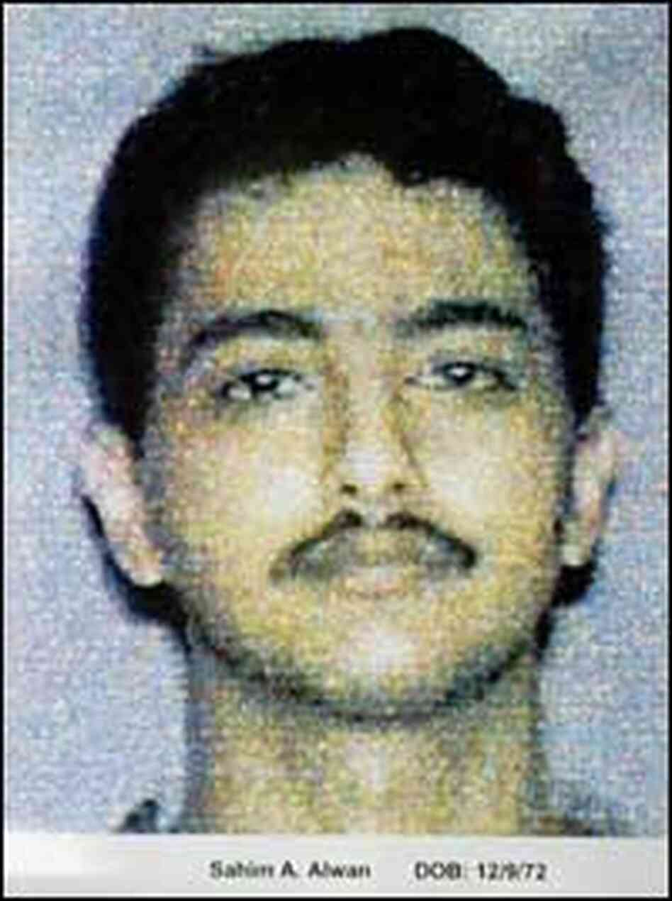 An FBI handout shows Sahim Alwan