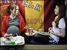 Ellen Page and Olivia Thirlby in 'Juno'