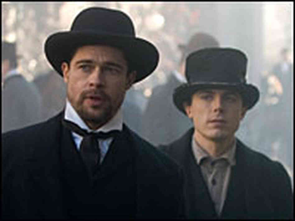 Brad Pitt and Casey Affleck in 'The Assassination of Jesse James ...'