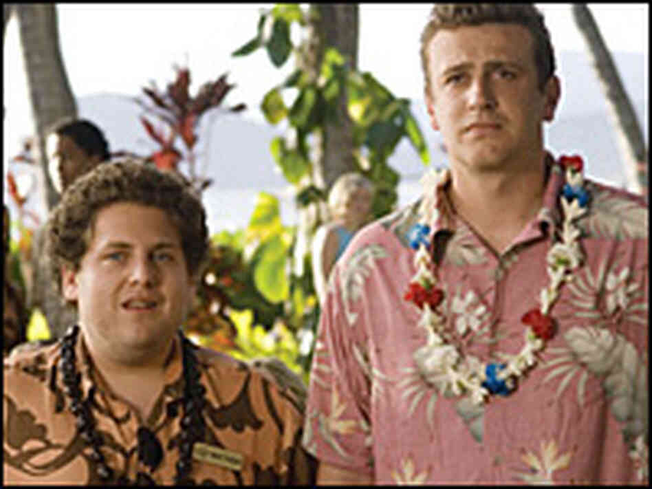Jonah Hill and Jason Segel in 'Forgetting Sara