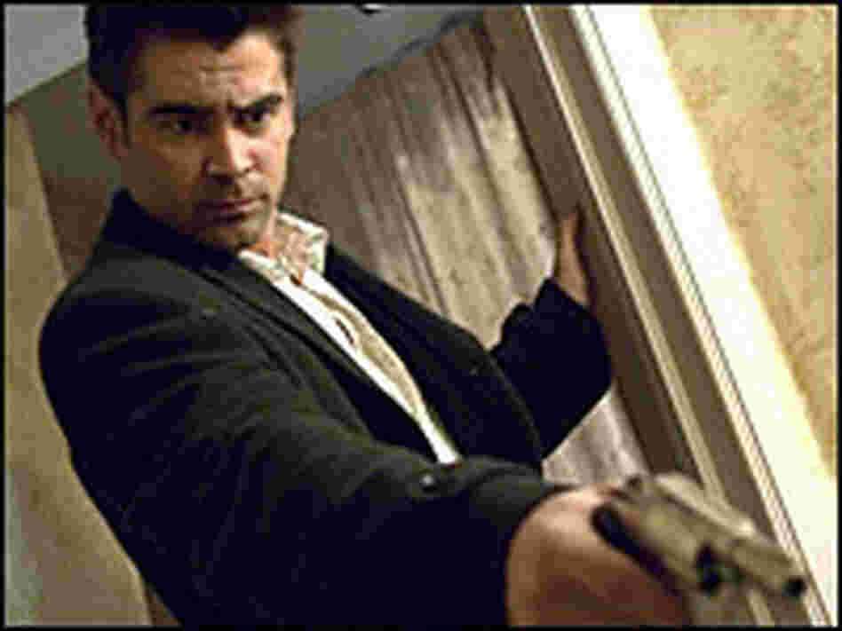 Colin Farrell plays a hit man in 'In Bruges'