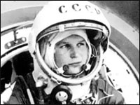 On June 16, 1963, Russian cosmonaut Valentina Tereshkova became the first woman in space.