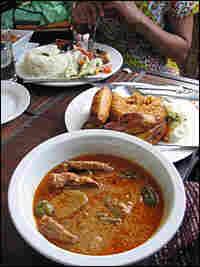Groundnut (peanut) soup