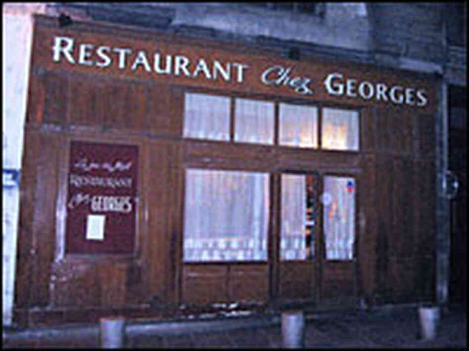 Exterior of Chez Georges in Paris' 2nd arrondissement