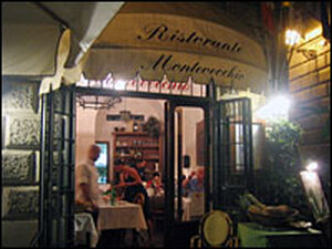 Montevecchio features fresh ingredients, homemade pasta and the owner's grandmother's apple cake