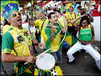 Brazilian soccer fans live by a code: Party. Win. Party. Win. Repeat as necessary.