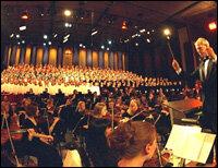 the st olaf college choir hide caption - St Olaf Christmas Festival