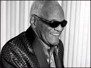 Pianist and singer Ray Charles, 1930-2004