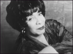 Vocalist and pianist Shirley Horn