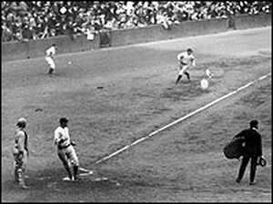 The 1923 World Series - New York Yankees and the New York Giants