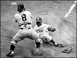 The 1955 World Series - Berra, Amoros and Reese