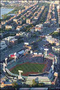 Fenway Park is embedded in the neighborhoods of Boston