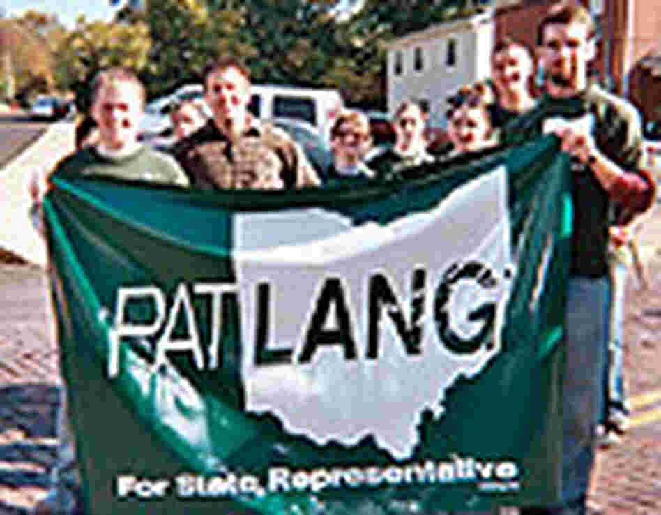 Members of Pat Lang's campaign for an Ohio state house seat.