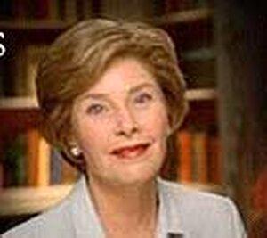 Laura Bush appears in a new Bush campaign ad