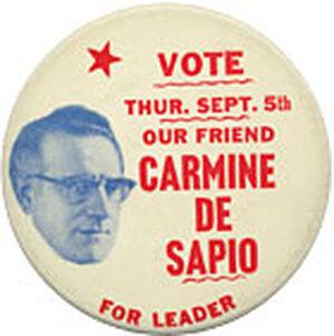 DE SAPIO:  The legendary New York political boss.