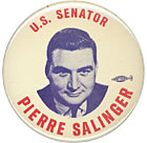 Briefly a U.S. senator, most remembered for his service to the Kennedys.
