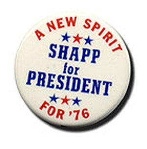 Campaign Button for Milton Shapp