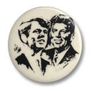 Robert and John Kennedy button