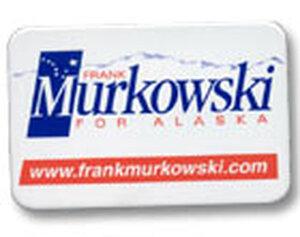 Frank Murkowski button