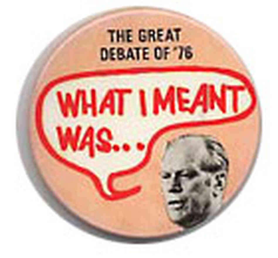 Ford's gaffe on Poland dominated the post-debate coverage in 1976.