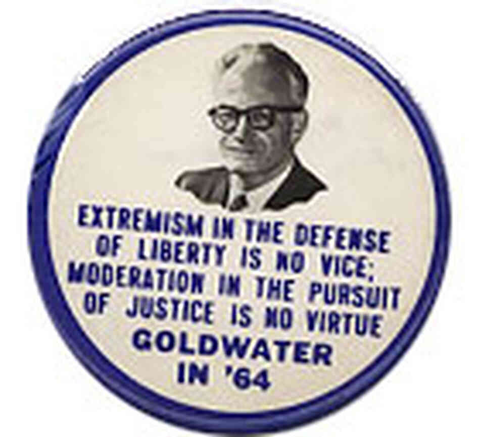 Goldwater's convention speech turned off GOP moderates, but it began a new era for conservatives.