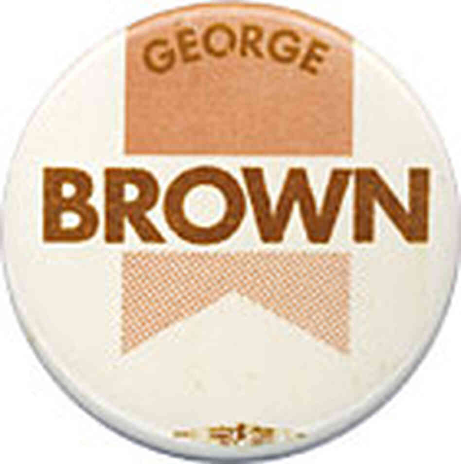 George Brown Campaign Button