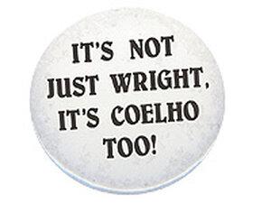 Wright/Coelho Button