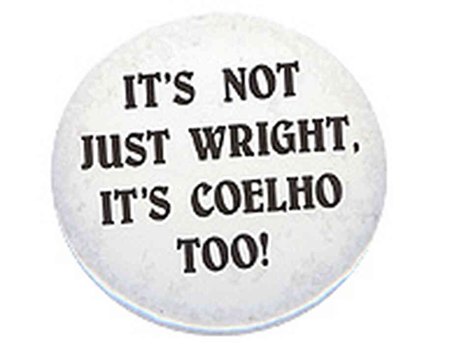 Wright/Coelho Button