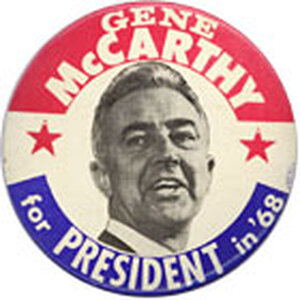 Eugene McCarthy button