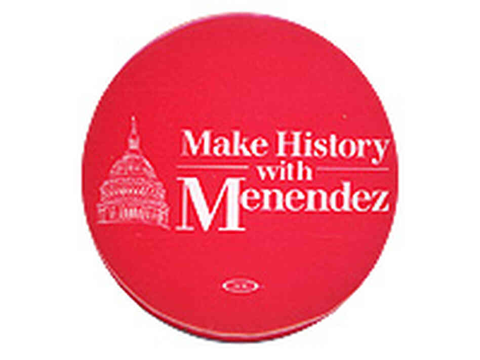 Rep. Menendez Button
