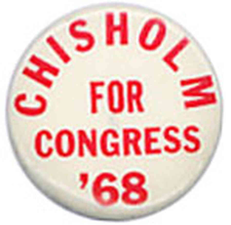 Shirley Chisholm was the first.