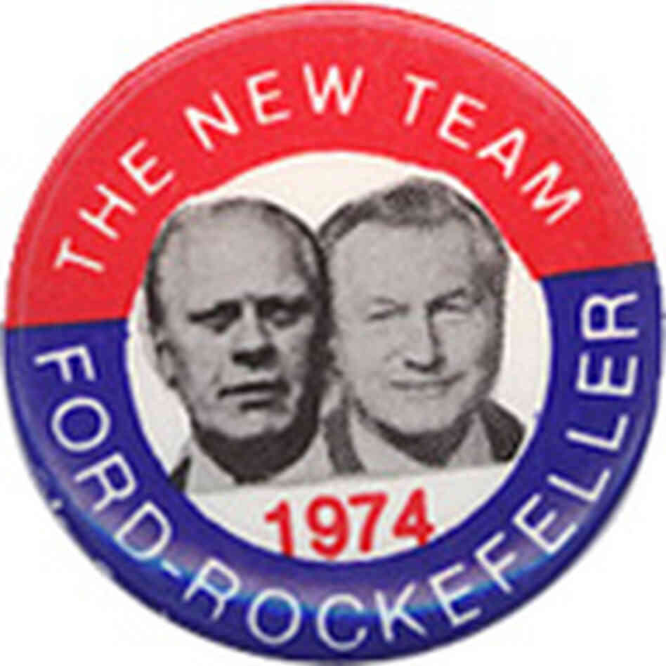 Ford-Rockefeller Button