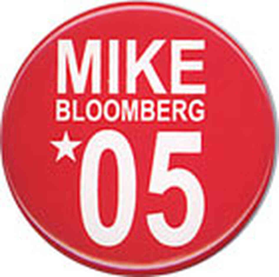 Mike Bloomberg Button